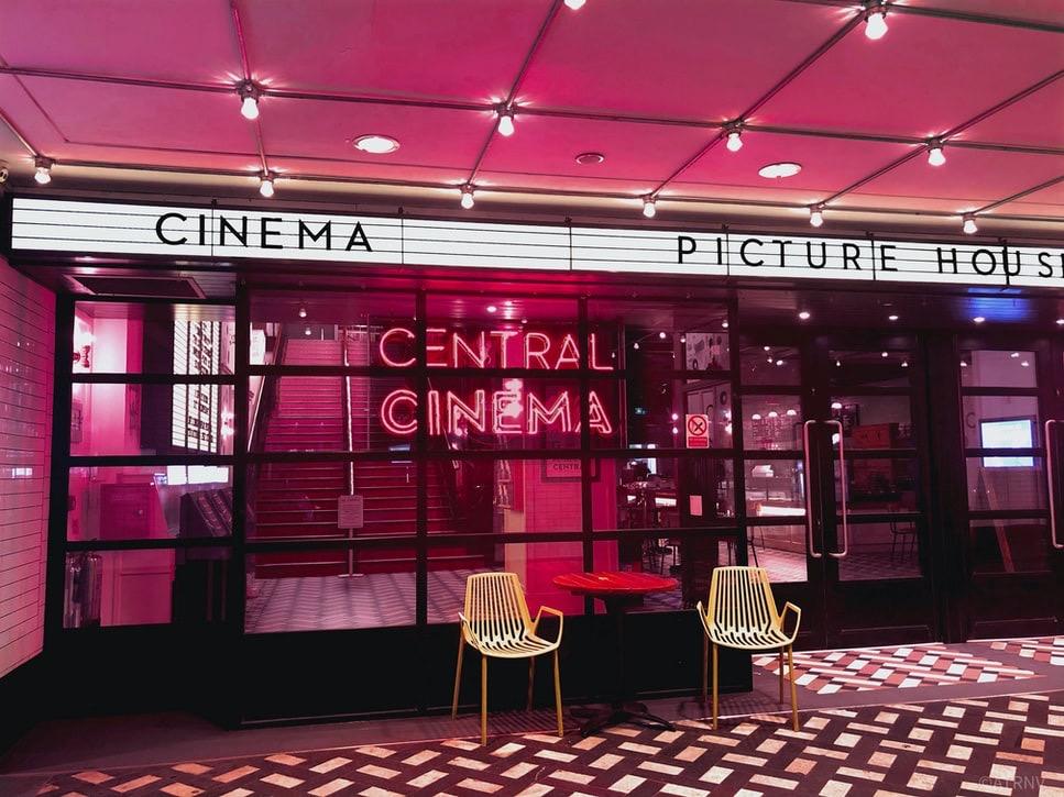 レトロな映画館