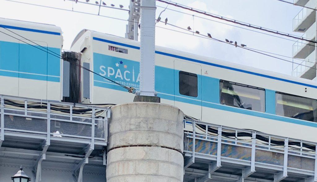 東武鉄道 特急スペーシア