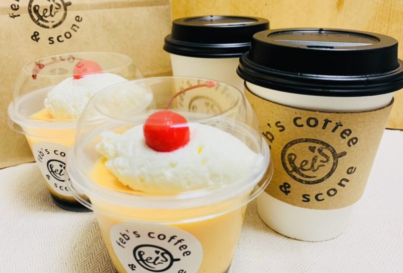 "浅草""Feb's coffee&scone"""