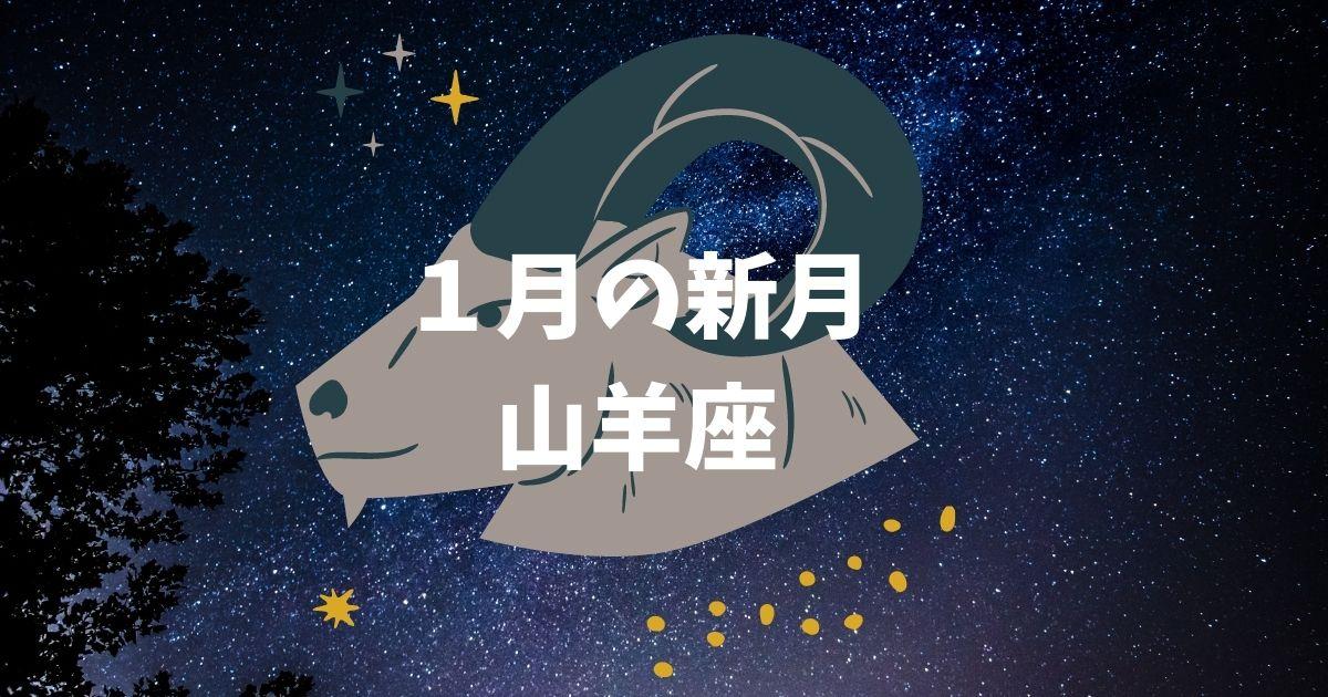 【2021年】1月・山羊座の新月カレンダー!!願い事や特徴は?!ボイドタイムはいつ?!